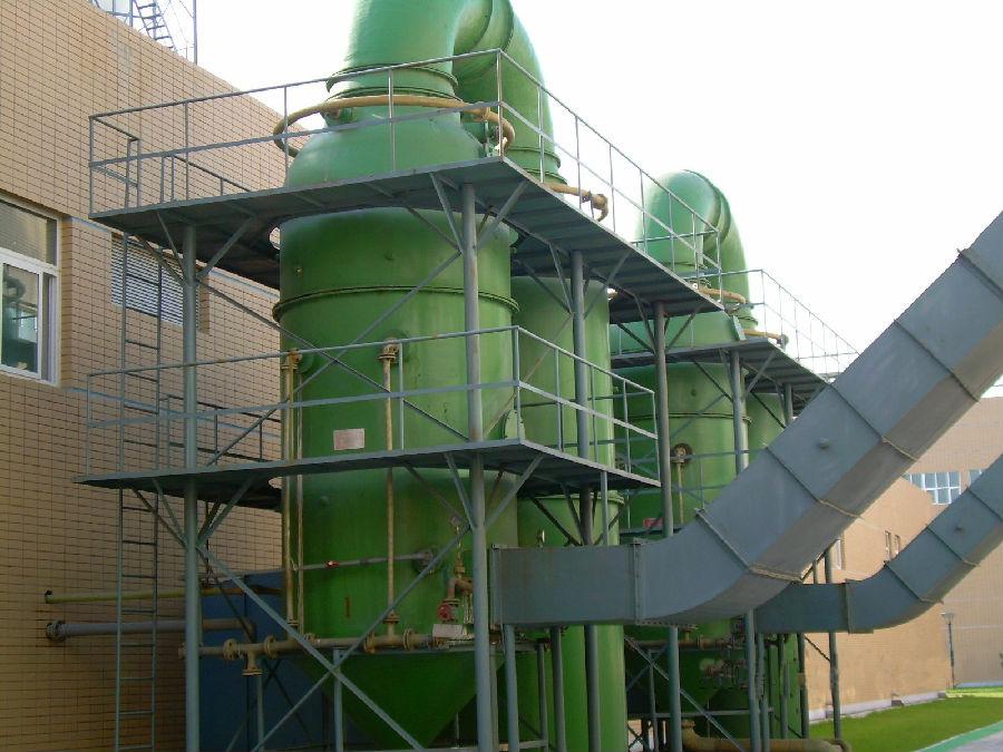玻璃钢废气洗涤塔-玻璃钢脱硫塔-潍坊金泰玻璃钢有限